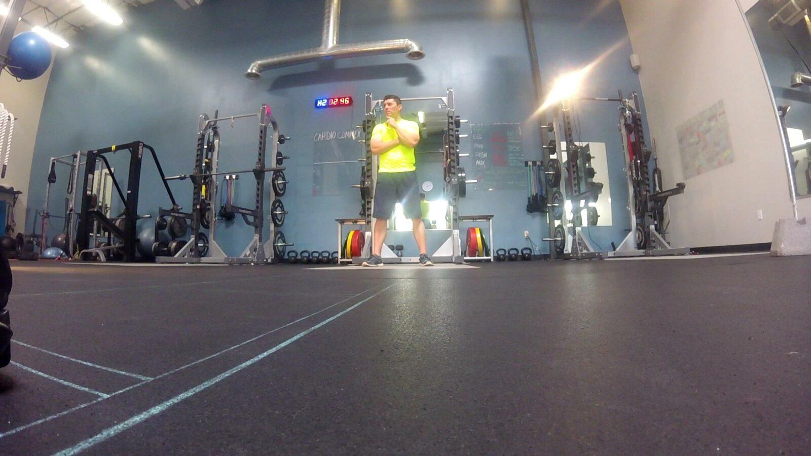 Gary at the gym