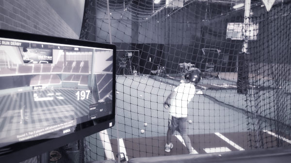HitTrax Big cage