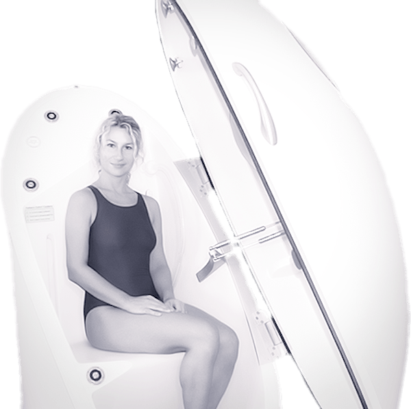 Body fat testing example Girl and BOD POD
